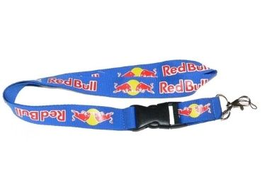 custom Red Bull Advertising Lanyard wholesale manufacturer and supplier in China