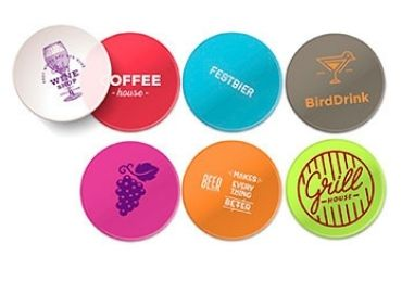 custom Rubber Advertising Coaster wholesale manufacturer and supplier in China