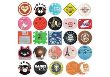 custom Silicone Advertising Coaster wholesale manufacturer and supplier in China