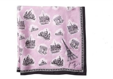 custom Silk Scarf Advertising Gift wholesale manufacturer and supplier in China