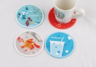 custom Starbucks Coaster Set wholesale manufacturer and supplier in China