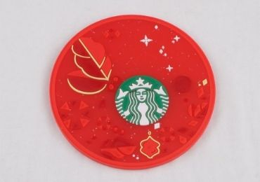 custom Starbucks Silicone Coaster wholesale manufacturer and supplier in China