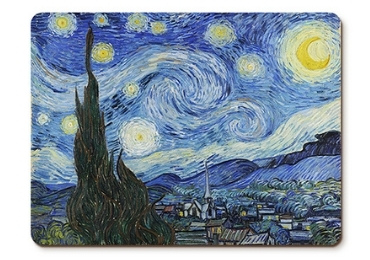 custom Van Gogh Advertising Placemat wholesale manufacturer and supplier in China