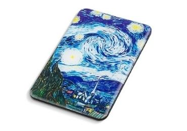 custom Van Gogh Epoxy Wooden Magnet wholesale manufacturer and supplier in China