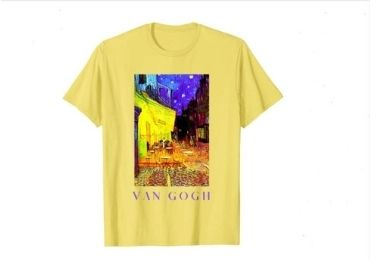 custom Van Gogh T-Shirts wholesale manufacturer and supplier in China