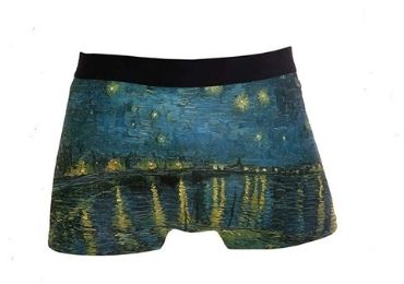 custom Van Gogh Underwear wholesale manufacturer and supplier in China