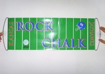 custom Aluminum Foil Sports Banner wholesale manufacturer and supplier in China