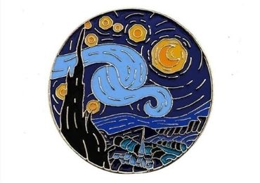 custom Artist Enamel Lapel Pin wholesale manufacturer and supplier in China