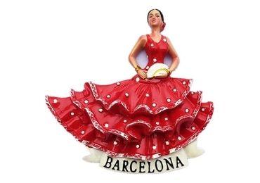 custom Barcelona Ceramic Flamenco Dancer wholesale manufacturer and supplier in China