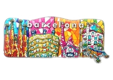 custom Barcelona Souvenir Resin Magnet wholesale manufacturer and supplier in China