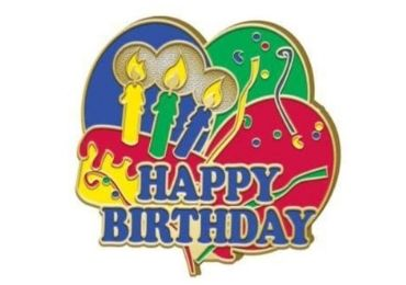 custom Birthday Enamel Lapel Pin wholesale manufacturer and supplier in China