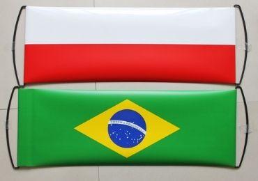 custom Brazil Marathon Banner wholesale manufacturer and supplier in China