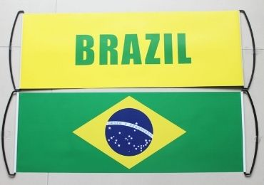 custom Brazil Retractable Banner wholesale manufacturer and supplier in China