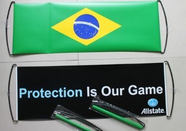 custom Brazil Sports Banner wholesale manufacturer and supplier in China
