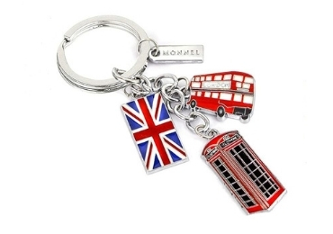 custom Britain Souvenir Enamel Keychain wholesale manufacturer and supplier in China