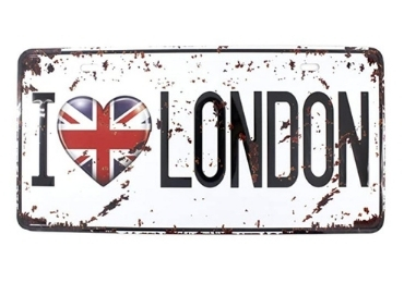custom Britain Souvenir License Plate wholesale manufacturer and supplier in China