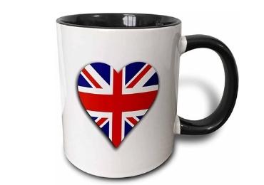 custom British Souvenir Ceramic Mug wholesale manufacturer and supplier in China