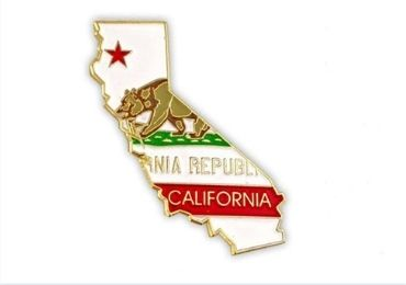custom California Enamel Pin wholesale manufacturer and supplier in China