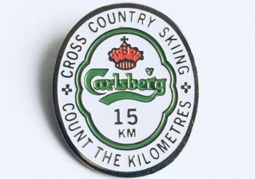 custom Carlsburg Enamel Lapel Pin wholesale manufacturer and supplier in China