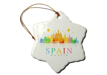 custom Ceramic Spain Souvenir Decor wholesale manufacturer and supplier in China