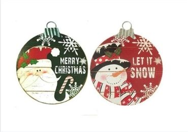 custom Christmas Printed Signs wholesale manufacturer and supplier in China