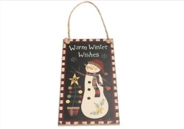 custom Christmas Wooden Signs wholesale manufacturer and supplier in China
