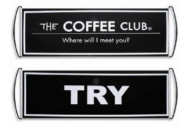 custom Coffee Advertising Banner wholesale manufacturer and supplier in China