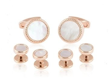 custom Cufflinks Studs Set wholesale manufacturer and supplier in China