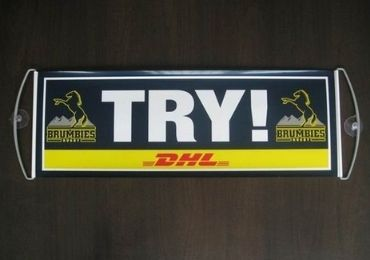 custom DHL Handheld Banner wholesale manufacturer and supplier in China