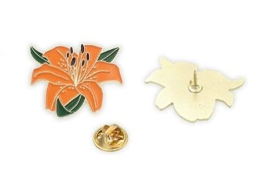 custiom Daffodil Enamel Pin wholesale manufacturer and supplier in China