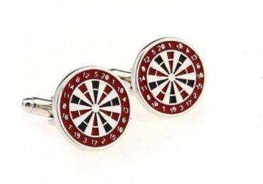 custom Dart Target Cufflinks wholesale manufacturer and supplier in China