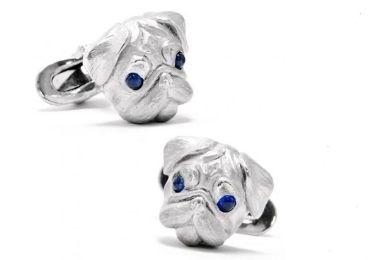 custom Dog Sliver Cufflinks wholesale manufacturer and supplier in China