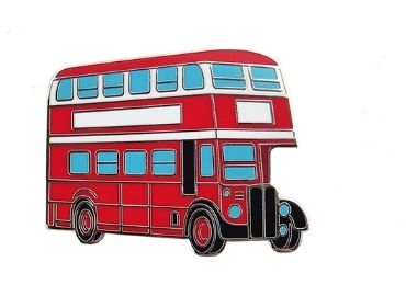 custom Double-decker Bus Pin wholesale manufacturer and supplier in China