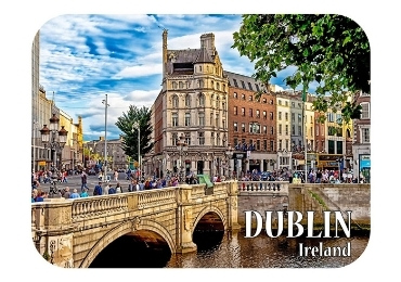 custom Dublin Ireland Fridge Magnet wholesale manufacture and supplier in China