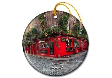 custom Dublin Souvenir Christmas Ornament wholesale manufacturer and supplier in China