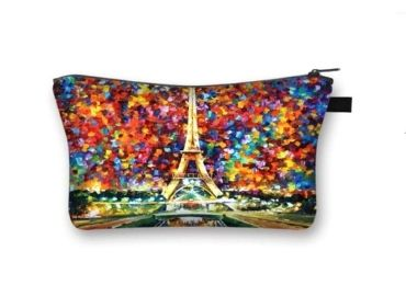 custom Eiffel Tower Cosmetic Bag wholesale manufacturer and supplier in China