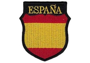 custom Embroidery Spain Souvenir Badge wholesale manufacturer and supplier in China