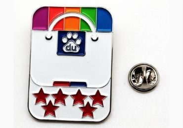 custom Enamel Lapel Pin Badge wholesale manufacturer and supplier in China