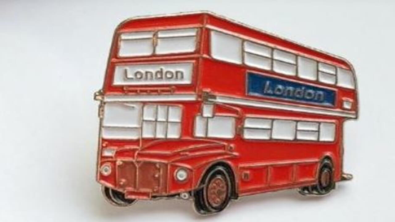 custom England Enamel Lapel Pin wholesale manufacturer and supplier in China