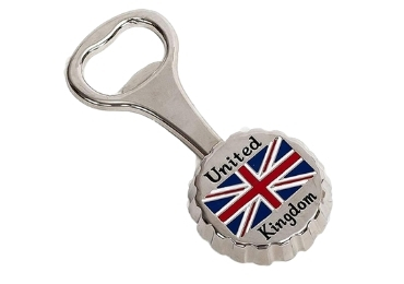 custom England Souvenir Bottle Opener wholesale manufacturer and supplier in China
