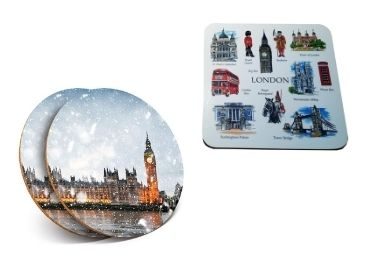 custom England Souvenir Cork Coaster wholesale manufacturer and supplier in China