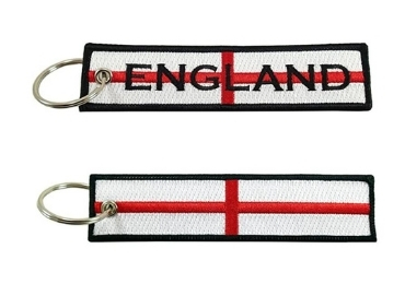 custom England Souvenir Embroidery Badge wholesale manufacturer and supplier in China