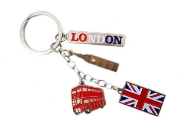 custom England Souvenir Keychain Set wholesale manufacturer and supplier in China