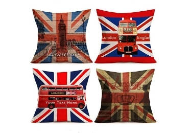 custom England Souvenir Pillow wholesale manufacturer and supplier in China