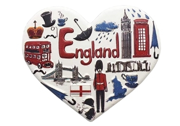 custom England Souvenir Resin Magnet wholesale manufacturer and supplier in China