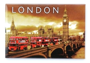 custom England Souvenir Tinplate Magnet wholesale manufacturer and supplier in China