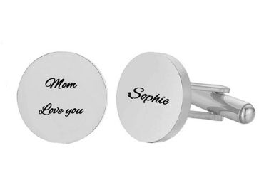 custom Engraved Cufflinks wholesale manufacturer and supplier in China
