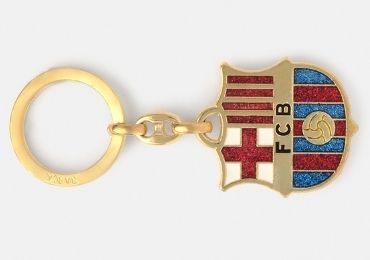 custom FC Barcelona Souvenir Keychain wholesale manufacturer and supplier in China