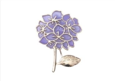 custom Flora Enamel Pin wholesale manufacturer and supplier in China