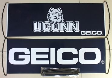 custom Geico Handheld Banner wholesale manufacturer and supplier in China